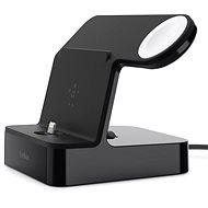Belkin PowerHouse Charge Dock pro Apple Watch + iPhone černý - Dobíjecí stojánek