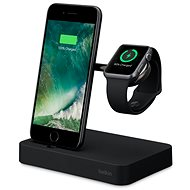 Belkin Valet Charge Dock pre Apple Watch + iPhone, čierny