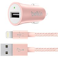 Belkin Universal Car Charger Rose Gold