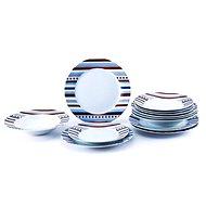 Bergner SET 18ks talířů, porcelán STARLINE
