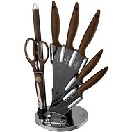 Berlingerhaus Set of knives 8pc Forest brown line