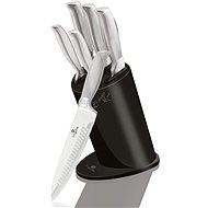 BerlingerHaus Sada nožů v bloku Carbon Metallic Line 6ks