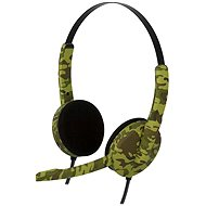 Bigben PS4HEADSETCAMO green camouflage