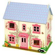 Pink doll house for dolls - Doll Accessory