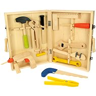 Wooden tool case