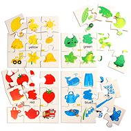 Didactic Wooden Toy - Puzzle colors
