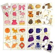 Wooden didaktische Spielzeug - Puzzle 2 Farben