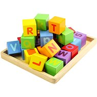 Wooden blocks with alphabets