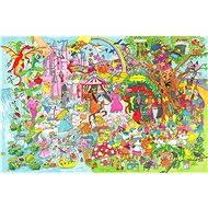 Drevené puzzle - Fantasyland
