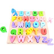 Wooden educational toy motor - Alphabet