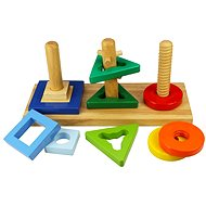 Wooden toy motor - Insert and turn