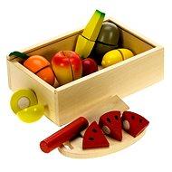 Drevené potraviny - Krájanie ovocia