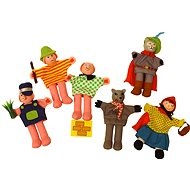Finger puppets - Characters from fairy tale Little Red Riding Hood