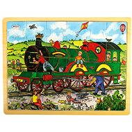 Puzzles aus Holz - Train - Puzzle