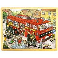 Wooden puzzle - Fire Department