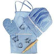 Modrý set šéfkuchárky
