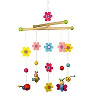 Hanging Carousel - flower and butterflies