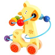 Motor labyrinth on wheels - Giraffe - Didactic Toy