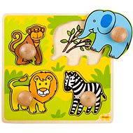 Holzeinschub Puzzle - Safari