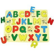 Wooden Insertion Puzzle - English Alphabet with Pictures