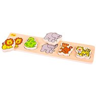 Wooden puzzle insertion wide - Safari