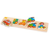 Wooden broad insertion puzzle - Toys