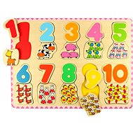 Wooden Counting Puzzle II