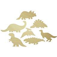 Holz obkreslovací Muster - Bilder von Dinosaurier