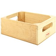 Wooden box for food