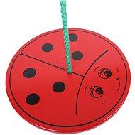 Wooden swing Ladybug