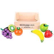 Drevené potraviny - Ovocie v prepravke
