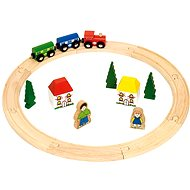 Wooden train sets - The first train sets of 20 parts