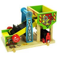 Wooden train sets - hopper and crusher for coal