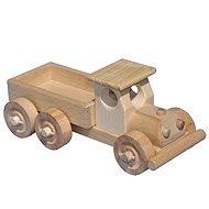 Drevené nákladné auto s korbou