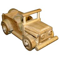 Wooden toys - Jeep