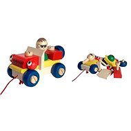 Wooden pull-along toy - Mounting auto