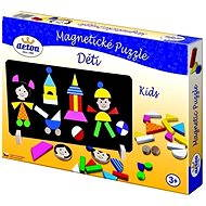 Wooden Toys-Magnetic puzzle Children