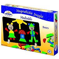 Wooden Toys-Magnetic puzzle Bears