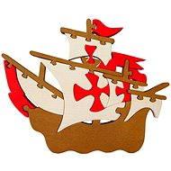 Vkladací puzzle - Velká loď Santa Maria - Puzzle