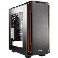 Seien Sie ruhig! STILLE BASE transparente Seitenwand 600 / orange - PC-Gehäuse