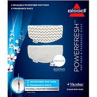 Bissell 2 spare covers and additional fragrance for steam mop with aromas Powerfresh 1016