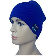 Beanie Bluetooth zimní čepice blue