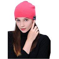 Beanie Bluetooth zimní čepice pink