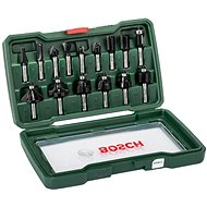 Bosch 15dílná set carbide cutters (8 mm stem) - A set of cutters