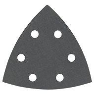 BOSCH eingestellt F355 Schleifblätter für delta Schleifern, 5 Stück - Schleifpapier