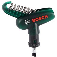 Bosch 10 Piece compact screwdriver set
