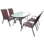 SET zahradního nábytku Nerang - Bronz Design - Set