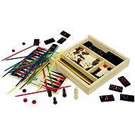 Dřevěné stolní hry - Sada her