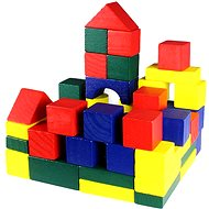 Wooden blocks 50 pcs