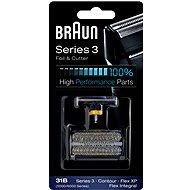 Braun CombiPack FlexIntegral-31S, stříbrná - Příslušenství